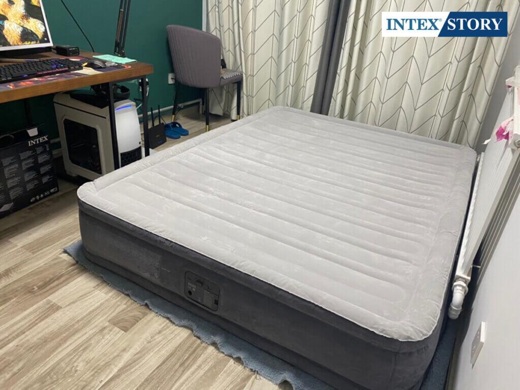 ที่นอนเป่าลมไฟฟ้า Intex 5 ฟุต รุ่น Comfort Plush 67770 - 5