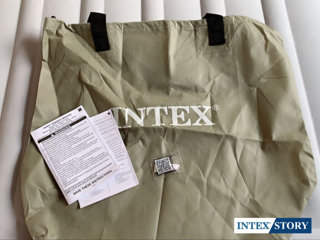 ที่นอนเป่าลม INTEX ระบบไฟฟ้า 4.5 ฟุต รุ่น 67768 - 8